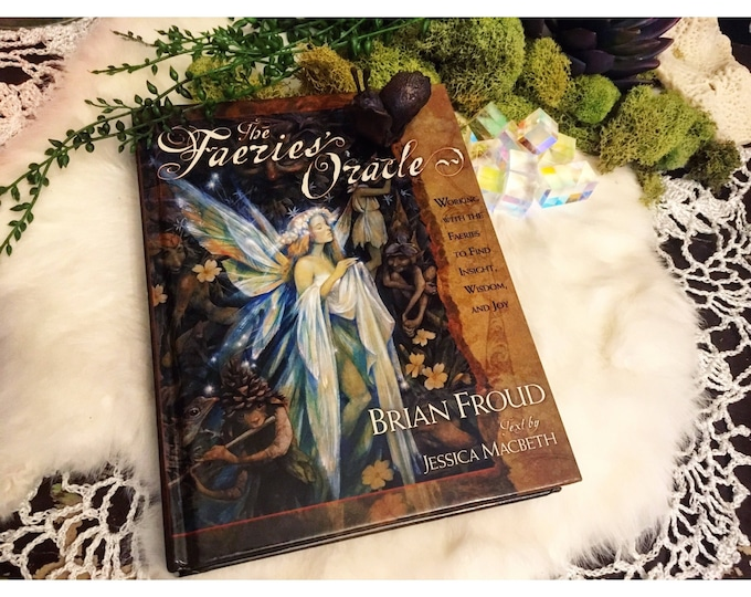 The Faeries Oracle Brian Froud Hardcover BOOK ONLY- no cards