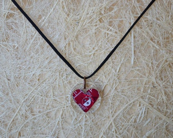 BeautIT heart pendant | Circuit board jewelry necklace |  Creative heart necklace | Perfect gift for it geeks | Mother's Day gift
