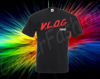 David Dobrok Vlog Squad Kid's tshirt