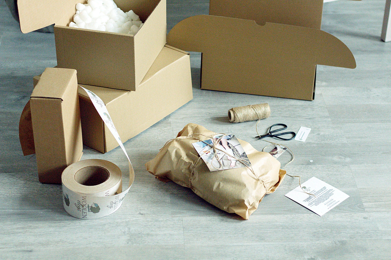 Cale en laine feutrée sabots marron ruban foncé avec des chaussures femmes ruban marron - chaussures en laine bio - brun - mules feutrées 831434