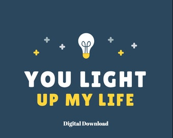 You Light Up My Life Digital Download