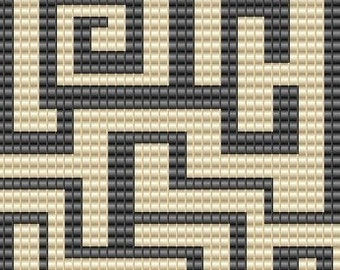 10 Patterns for 25.00 - Special Sale - Loom and or Peyote Bead Patterns
