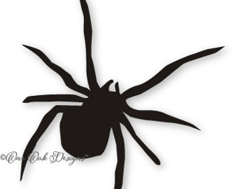 Halloween Spider SVG File / dxf / PDF / eps / AI / jpg / png svg file for Cameo svg file for Cricut & other electronic cutters