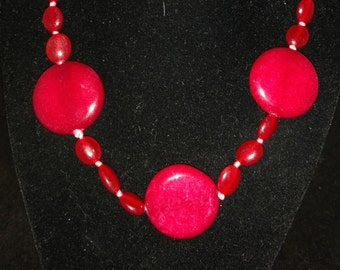 Red Jade Necklace