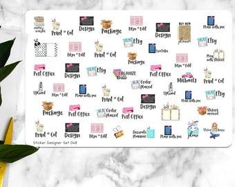Sticker Designer Shop Stickers, | B048