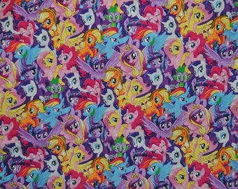 Phone/Kindle/Nook/iPod  or iPad/Tablet Pillow My Little Pony All Over