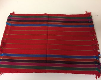 Hand woven Placemats made in Guatemala
