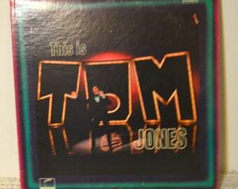 This Is Tom Jones, Tom Jones, LP, Vinyl Lp, Vintage LP, Record, Antiques