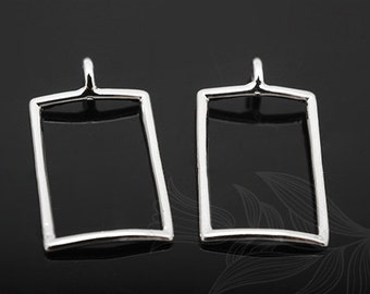 H777-20pcs-Rhodium Plated