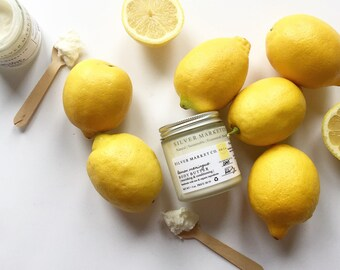 LEMON MERINGUE | Body Butter | Moisturizer | Natural | Chemical Free |Cruelty Free | Vegan