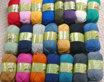 Knitting Wool/Yarn King Cole 100% Wool Merino DK (Light Worsted) Knitting Yarn/Wool