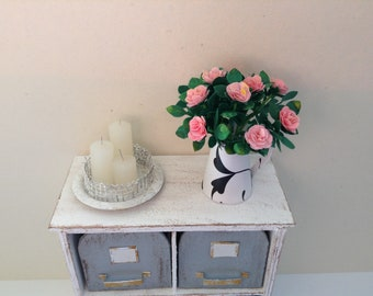 Bouquet of roses in 1zu12 for the doll house