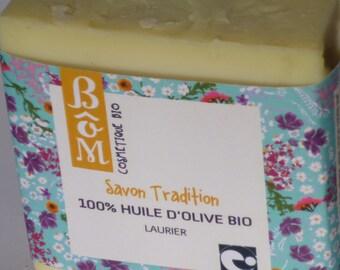 SOAP BôM TRADITION Bay 100% olive oil