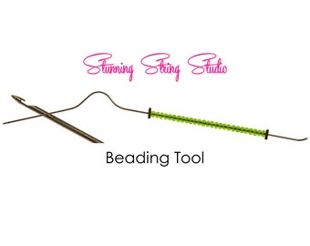 Bent Style Beading Tool - Your choice of size