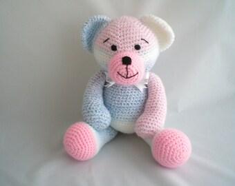Large Crochet Teddy Bear / Amigurumi Teddy Bear /  Giant sized Teddy Bear / Crochet Plush Teddy Bear / Ultra soft Teddy Bear soft toy plush.
