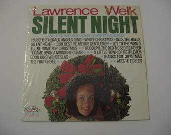 Clearance Sale - Lawrence Welk - Silent Night - Circa 1970's