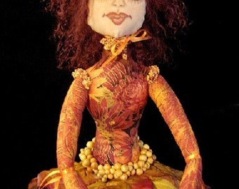 Art Doll-CINNAMON-OOAK (Made to Order by Request)