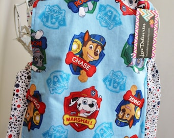 Paw Patrol Chase Marshall and RockyToddler Art Smock Apron