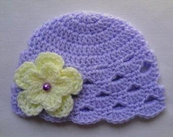 Crochet Baby Hat, Beanie