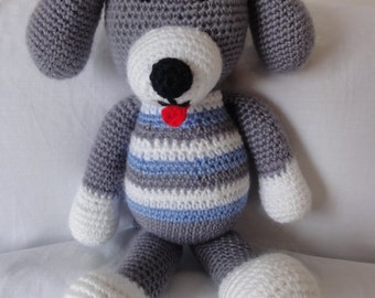 Crochet Puppy, Puppy, Crochet Dog, Amigurumi Puppy, Amigurumi Dog, Crochet Toy, Girl, Boy, Baby, Gift, Baby Shower, Nursery