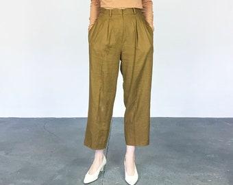 Cinnamon Linen High Waist Pant (M)