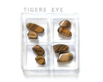 TIGERS EYE ----  Rox Box  --- crystal, gemstone gift