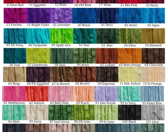 5 ea Silky Ribbon Hand Dyed Pick your Colors