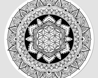 Barriers Mandala Sticker | LIMITED EDITION