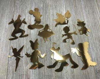 Disney silhouette / Kids stickers / Self adhesive vinyl