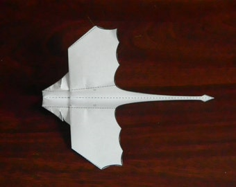 Create Your Own Flying Paper Dragon - Krag