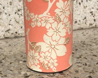 Pink Floral Tea Tin