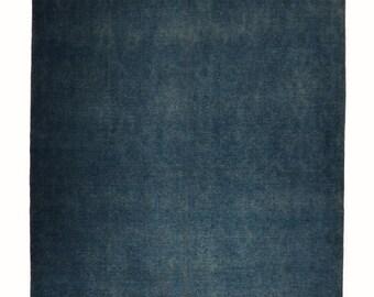 Afghan Over Dyed Indigo rug