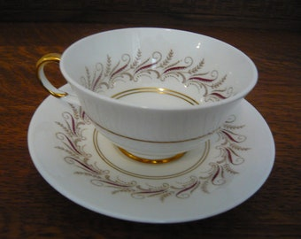 RESERVED for Mika Paragon Fine Bone China  cup and saucer Melody Made in England