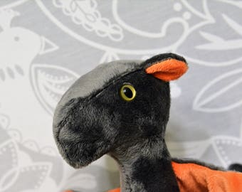 Cayenne Dragon Grey and Orange