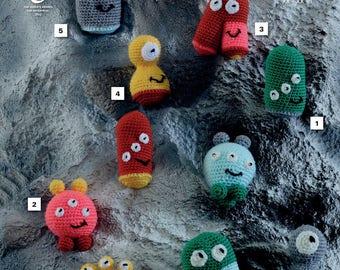 Meet The Aliens Crochet Pattern