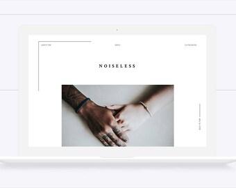 Noiseless • Responsive Blogger Template, Blogger Template, Responsive Blogger Theme, Blogger Theme,  Minimalist Blogger Template