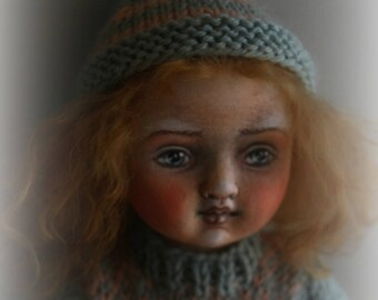 "One-of-a-kind Jointed Cloth Doll ""May"""
