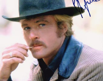 Robert Redford Original Vintage Hand Signed 8X10 Autographed Photo