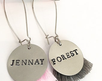 Wine Glass Charms - Jennay & Forest Gump