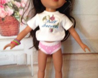 "1 pair Undies panties for 14"" Hearts 4 Hearts doll"
