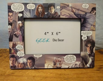 Doctor Who (Eleventh Doctor) 4x6 Picture Frame / Amy Pond / Rory Williams