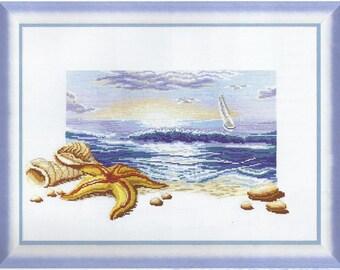 Cross Stitch Kit By the sea 3