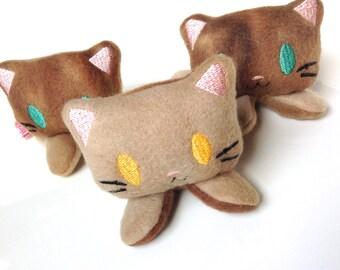 Catnip Toy Kitten | Cat Toy | Kawaii Cat Toy | Plush Kitten | Cat Gift | Cat Baby | Catnip | Unique Cat Toy | Cat Lady Gift