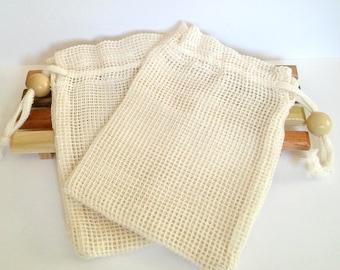 Soap Saver,  Soap Sack, Soap Bag, Ramie Soap Bag, Washcloth Bag, Soap pouch, Natural soap bag, Soap gift set