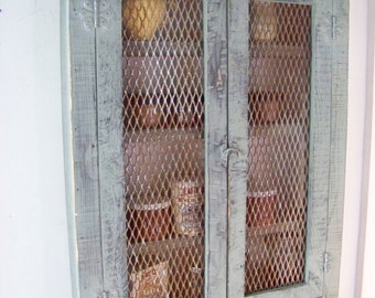 Medicine cabinet, spice cabinet or just a cool rustic place for your stuff