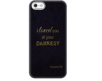 Christian Phone Cases - Romans 5:8
