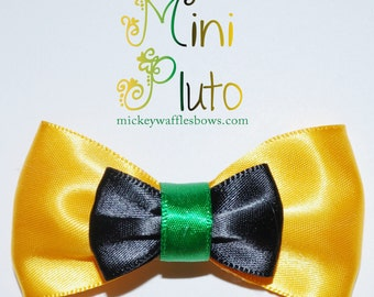 Mini Pluto Hair Bow