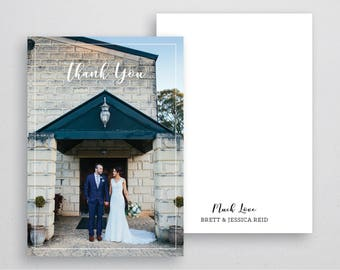 Thank You Card (Wedding) A6