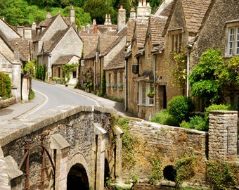 Castle Combe - Chippenham - England - UK - Photo - Print