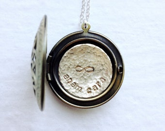 Locket Necklace, Best Friends Gift, Sister Jewelry, Personalized Locket, Sisters Necklace, Friendship Gift, Gifts for Sister